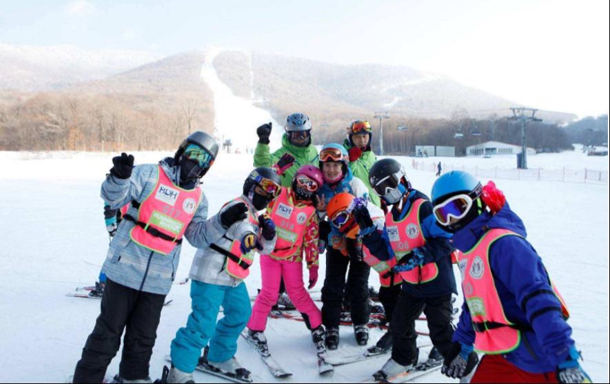 红花尖滑雪团建